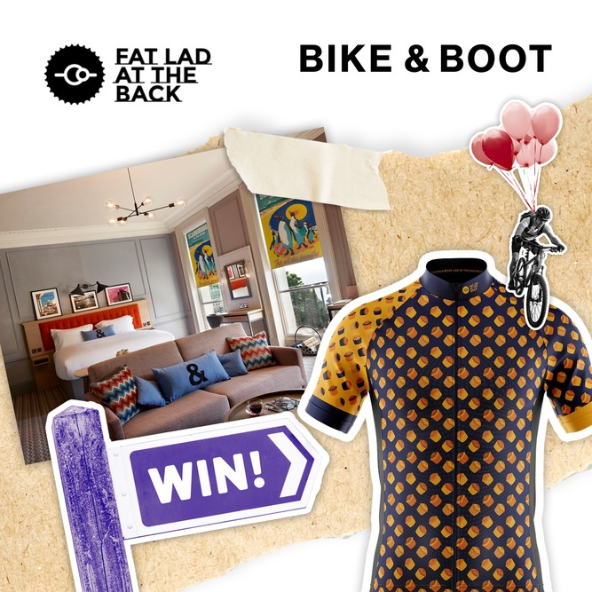 Bike & Boot - Hotel in Scarborough - Fat Lad at the Back Competition